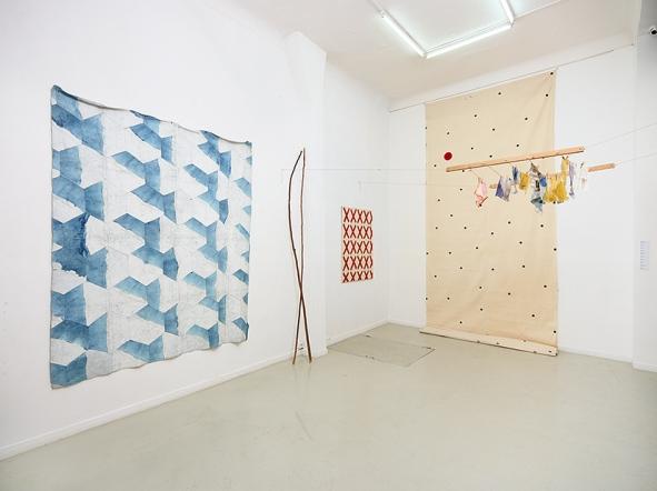 Galerie Eva Vautier Nice Exposition Support Surface Juin 2016