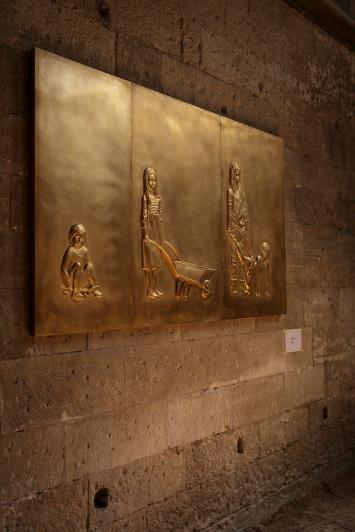 SURFACES - Adel ABDESSEMED - Dans le cadre du 70eme Festival d Avignon - Lieu : Eglise des Celestins - Ville : Avignon - Le : 06 07 16 - Photo : Christophe RAYNAUD DE LAGE